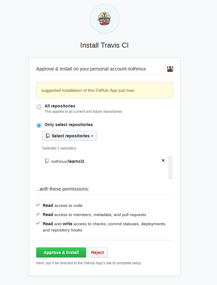 Continuous Integration dengan Travis CI